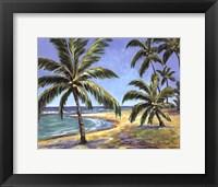Framed Tropical Beach