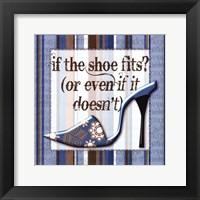Framed Girly Shoe II