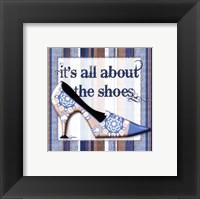 Framed Girly Shoe I - petite