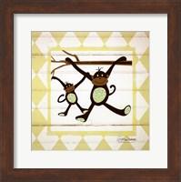 Framed Monkeys
