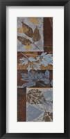 Blue Fusion Panel II - mini Framed Print