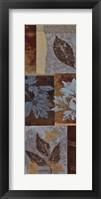 Blue Fushion Panel I - mini Framed Print