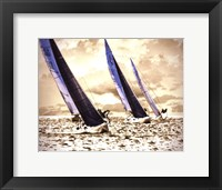 Framed Racing Waters II - mini