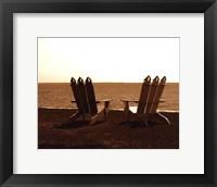 Framed Adirondack Chairs I - mini