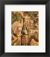 Framed Wine Collage II - mini