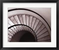 Framed Capital Stairway