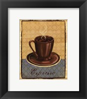 Coffee Club - mini Framed Print
