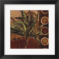 Framed Contemporary Palm II