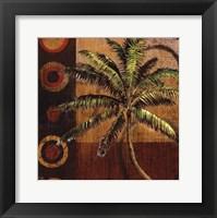 Framed Contemporary Palm I