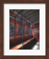 Framed Red Line, circa 1940