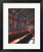 The Red Line, circa 1940 Framed Print