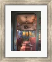 Framed Trolley Aisle, #665