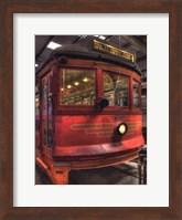 Framed Trolley #655, Hill St.-Venice Blvd.