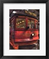 Trolley #655, Hill St.-Venice Blvd. Framed Print