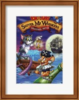 Framed Tom and Jerry in Shiver Me Whiskers