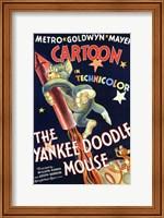 Framed Yankee Doodle Mouse