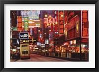Framed Hong Kong Neon