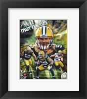 Framed Clay Matthews 2011 Portrait Plus