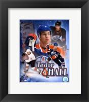Framed Taylor Hall Portrait Plus
