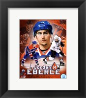 Framed Jordan Eberle Portrait Plus