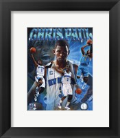 Framed Chris Paul Portrait Plus