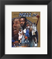 Framed John Wall 2011 Portrait Plus