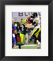 Framed Clay Matthews Action from Super Bowl XLV