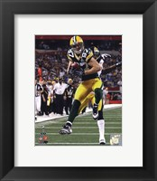 Framed Jordy Nelson Touchdown from Super Bowl XLV