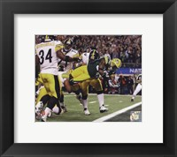 Framed Nick Collins TD from Super Bowl XLV