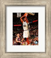 Framed David Robinson Game 2 of the 2003 NBA Finals Action