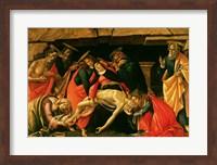 Framed Lamentation of Christ. c.1490