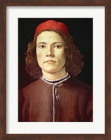 Framed Portrait of a Young Man, c.1480-85