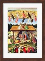 Framed Mystic Nativity, 1500