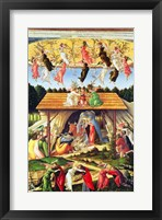 Framed Mystic Nativity, 1500
