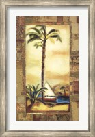 Framed Tropical Gold I
