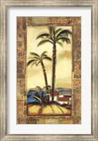 Framed Tropical Gold II