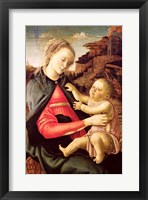 Framed Virgin and Child (Madonna of the Guidi da Faenza) c.1465-70