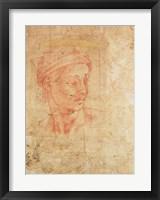 Framed Study of a Head