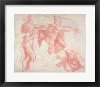 Framed Studies of Male Nudes