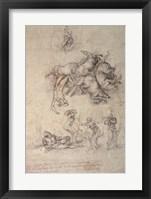 Framed Fall of Phaethon, 1533