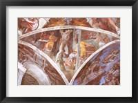 Framed Sistine Chapel Ceiling: Haman