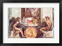 Framed Sistine Chapel Ceiling: Ignudi