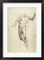 Framed Study for The Last Judgement