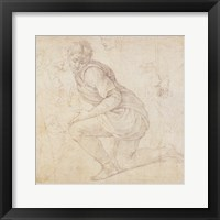 Framed Inv. 5211-75 Fawkener Recto