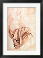 Framed Inv. 1887-5-2-118 Recto (W.10) Study of drapery
