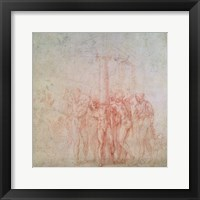 Framed Inv. 1895 6-15-500. R. (W.15) The Flagellation of Christ