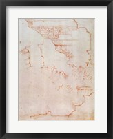 Framed Inv. 1859 6-25-560/2. R. (W.19) Drawing of architectural details