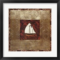 Framed Sailboat I