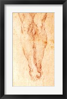 Framed Study for a Crucifixion