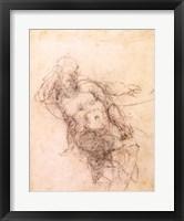 Framed Study for Noah in 'The Drunkenness of Noah', 1508-12